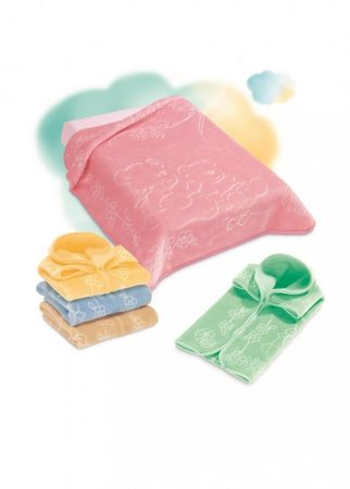 Belpla Baby Perla zsák (518) 80*90 Green - dobozos