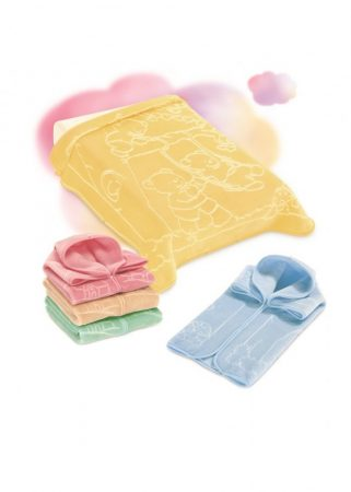 Belpla Baby Perla zsák (517) 80*90 Yellow -dobozos