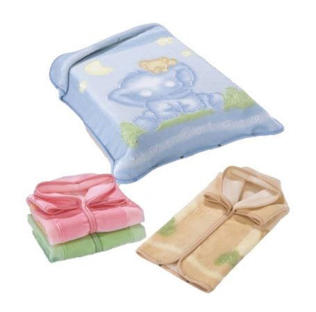 Belpla Pléd Baby Perla Gold zsákká alakítható  (535) 80*90 Pink