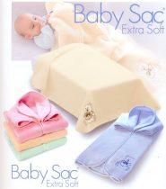 Belpla Baby Perla zsák Soft (702) 80*90 Blue - dobozos