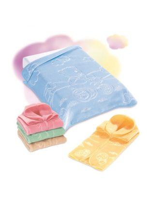 Belpla Baby Perla zsák (519) 80*90 Beige - dobozos