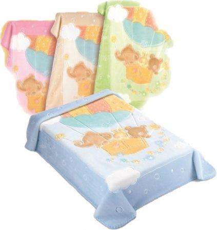 Belpla Baby Perla Gold Pléd (538) 110*140 Beige - dobozos