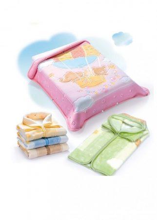 Belpla Pléd Baby Perla Gold zsákká alakítható  (538) 80*90 Pink