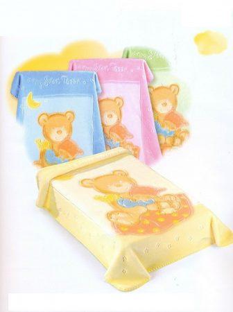 Belpla Baby Perla Gold Pléd (537) 80*110 Beige - dobozos