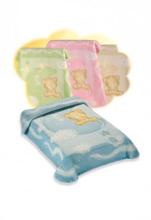 Belpla Baby Perla Gold Pléd (536) 110*140 Beige -dobozos