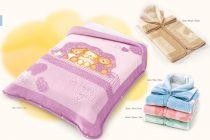 Belpla Baby perla gold zsák (543) 80*90 lila - dobozos