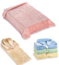 Belpla Baby perla zsák ster (521) 80*90 pink - dobozos