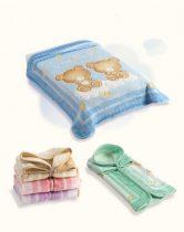 Belpla Baby perla gold zsák (548) 80*90 green - dobozos