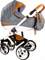 Teddy Nova 3in1 babakocsi Grey-Brown