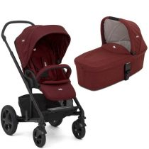 JOIE CHROME DLX 2IN1 BABAKOCSI CRANBERRY