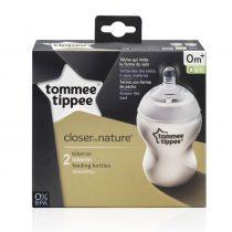 Tommee Tippee Közelebb A Természeteshez Bpa-Mentes cumisüveg Duo 260 ml