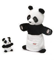 Trudi Panda Báb Kicsinyével plüss