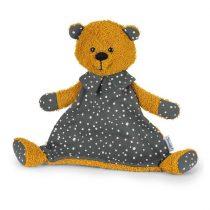 Sterntaler cuddle cloth M Baylee yellow - Baylee maci szundikenndő 26 cm