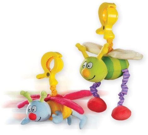 Taf Toys Busy Pals csíptethető játékok 10555 rózsaszín -sárga