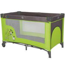 Baby Corner Utazóágy Complete Mintás Zöld-Szürke