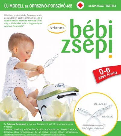Arianna bébi Zsepi Orrszívó