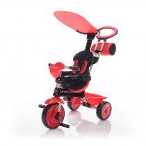 Zopa Tricikli Zoogo tolókarral Ladybug Piros