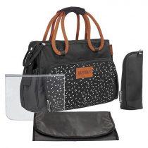 Badabulle pelenkázó táska Boho Fekete B043018