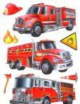 Marko Falidekor 3d Tűzoltóautók Slk-1056