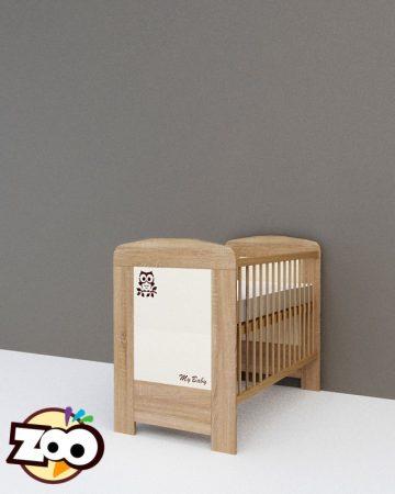 Todi Zoo babaágy 60x120 cm