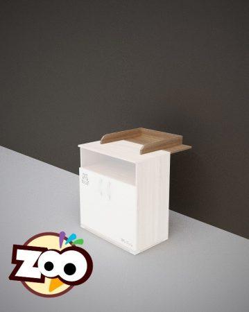 Todi Zoo pelenkázó toldalék 2 ajtós komódhoz 50x70 cm