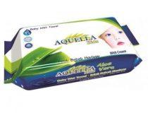 Aquella Kids Baby nedves törlőkendő 60 db Aloe Vera