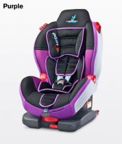 Caretero Sport TurboFix Isofix 9-25 kg gyerekülés Purple