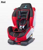 Caretero Sport TurboFix Isofix 9-25 kg gyerekülés Red