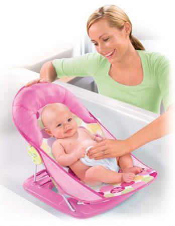 Summer Infant Deluxe Hálós Fürdető Fotel Pink