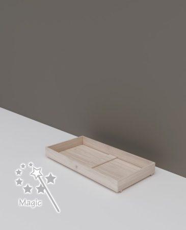 Todi Magic gurulós ágyneműtartó átalakítható gyerekágyhoz 70x140 cm