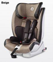 Caretero Volante Isofix Limited 9-36 kg gyerekülés Beige