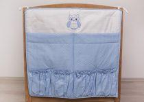 Szeko Hímzett zsebes tárolók - Lulu Bagoly - Kék Pöttyös