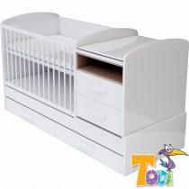 Todi Bianco kombi babaágy 70x120 cm