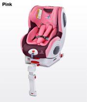 Caretero Champion Isofix 0-18 kg gyerekülés Pink