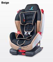 Caretero Sport TurboFix Isofix 9-25 kg gyerekülés Beige