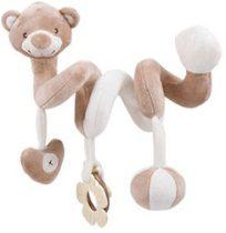 Kikkaboo plüss játék spirál Bear Boo