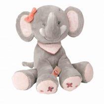 Nattou plüss játék 28cm Adele and Valentine - Adele, az elefánt