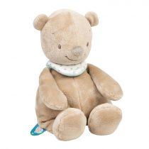 Nattou plüss játék 28cm Mia and Basile - Basile, a medve