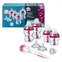 Tommee Tippee BPA-mentes újszülött cumisüveg kezdő szett lány (9db)