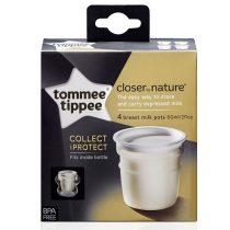 Tommee Tippee Közelebb a természeteshez anyatejtároló edénykék 4db