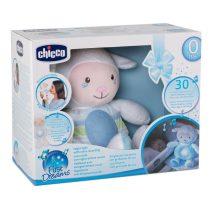 Chicco First Dreams zene-fény altató bárányka - Kék