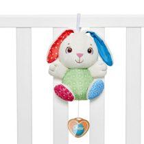 Chicco Fluffy Bunny - zenélő nyuszi kiságyjáték