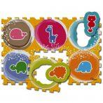 Chicco Állatos Puzzle - mosható szőnyeg 6 db-os