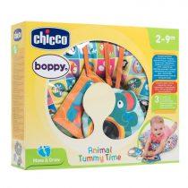 Chicco BOPPY® állatos hasaló babapárna (2-9 hó) - Sokszínű