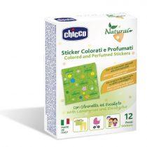 Chicco Natural Stickers - illatos tapaszok 12 db