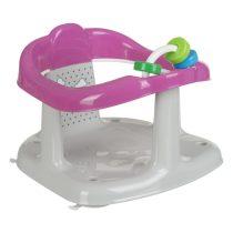 Maltex fürdető ülőke kádba szürke/rózsaszín