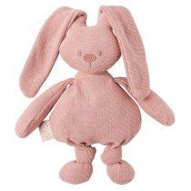 Nattou pamut játék 36cm Lapidou - Nyúl kötött pink