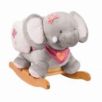 Nattou plüss hintázó állatka Adele & Valentine - Adele, az elefánt