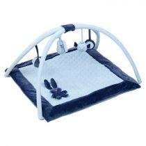 Nattou plüss játszószőnyeg Lapidou - kék