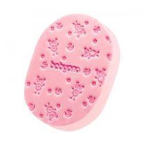 BabyOno puha babafürdető szivacs 063 --rózsaszín